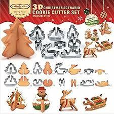 amazon com fox run gingerbread house cookie cutter bake set