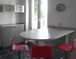 table cuisine demi lune table de cuisine noir photos de design d intérieur et décoration