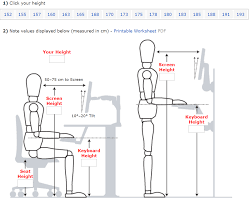 desk height for 6 2 set up your ideal ergonomic workspace in 6 simple steps