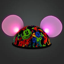 disney hat ears hat mickey mouse made with magic light up