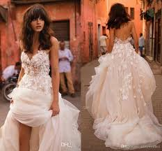 where to buy wedding dresses usa discount 2018 liz martinez wedding dresses with 3d floral v