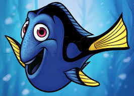 draw dory finding dory step step disney