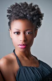 oval face with tapered afro haircut 34 african american short hairstyles for black women circletrest