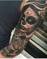 day of the dead by ciglatattoo mexicanstyle tattoos
