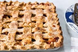 types of pies for thanksgiving apple slab pie recipe simplyrecipes com