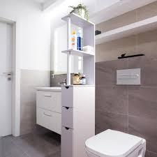 armadietto da bagno mobiletto salvaspazio da bagno in legno d mail