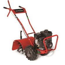 earthquake groundbreaking power equipment rear tine rototiller