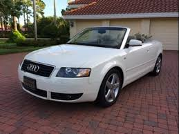white audi a4 convertible for sale sold 2004 audi a4 3 0 cabrio for sale by autohaus of naples