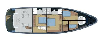 Yacht Floor Plan by Bering 75 Luxury Yacht Exploration Yacht Bering Yachts