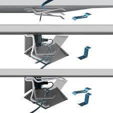 le bureau à pince pince câbles guide câbles électrification accessoires de