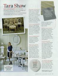 southern living january 2013 tara shaw design antiques