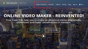 renderforest review online video creation tool