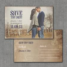 postcard save the dates rustic save the date postcard 4x6 printable digital file