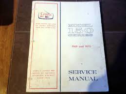 1969 1970 cessna 150 service manual u2022 129 19 picclick