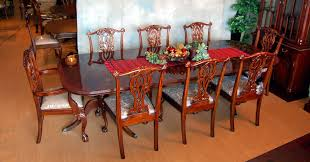 Mahogany Dining Room Table And 8 Chairs Buy Mahogany Dining Set By Mm Signature From Www Mmfurniture