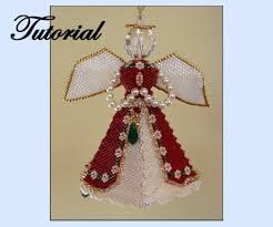 Easy Beaded Christmas Ornaments - majestic angel christmas ornament sova enterprises