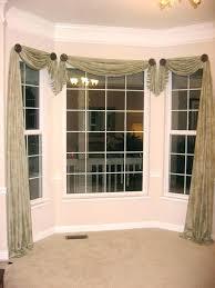 kitchen bay window curtain ideas ideas for bay windows curtains kajimaya info