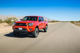 widebody toyota truck 2015 toyota tacoma trd pro first test motor trend