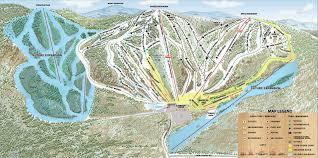 Mount Washington Trail Map by Resort Ski New Hampshire