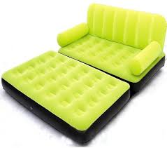 Inflatable Mattress For Sofa Bed by Airsofa 5 In 1 Air Bed Velvet Mattress Lounge Seat Couch Carbed