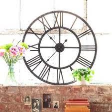Giant Wall Clock Luxurious Large Iron Wall Clock Hickory Dickory Clock