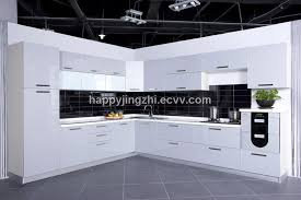 Modren European Style Modern High Gloss Kitchen Cabinets Woods On - High gloss lacquer kitchen cabinets