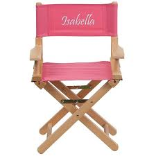 Personalized Kid Chair Personalized Kid Size Directors Chair In Pink D Tyd03 Pk Txtemb