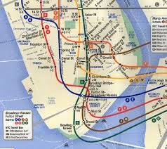 mta map subway the view from 9 11 services changes second ave