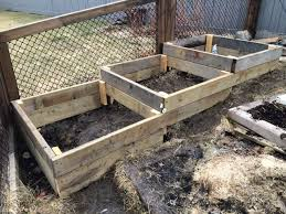 how to build raised garden beds on a slope or hillside easy