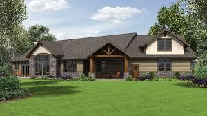 alan mascord house plans alan mascord design associates plan 1345 rear rendering