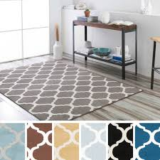 10x10 Area Rugs Meticulously Woven Groves Modern Geometric Area Rug 5 3 X 7 3
