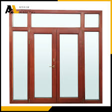 French Doors With Transom - 3 wide transom over 2 panel french door with sidelights china