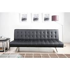 Sleeper Sofa Black by Black Leather Pull Out Sofa Bed Centerfieldbar Com