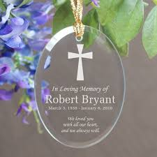 in loving memory oval glass ornament mywalkgear