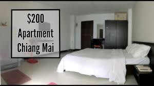 Minimalist Apartment Minimalist Apartment Tour 200 Month Chiang Mai Thailand