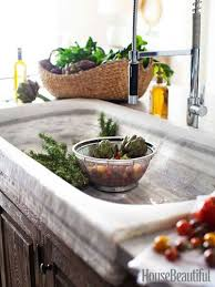 vintage kitchen sink faucets an wood kitchen with graphic black and white accents sinks