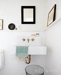 In Wall Bathroom Faucets Best 25 Wall Mounted Sink Ideas On Pinterest Wall Mounted