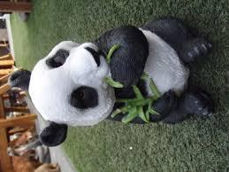 resin lifelike panda ornament garden ornaments animals