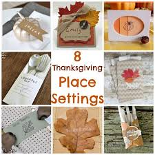 8 thanksgiving place settings sting