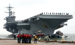 uss lincoln u0027s commander gets his wish as carrier returns to