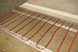 Installing Floor Tile Awesome How To Install In Floor Heat Family Handyman Intended For