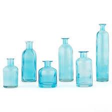 Turquoise Glass Vase Vases Everything Turquoise