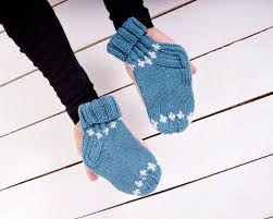 Kids Wool Socks Baby Wool Socks Boys Girls Newborn Knitted Socks Kids Hand