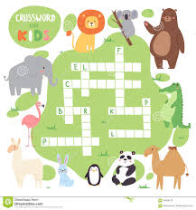 Free Printable Halloween Crossword Puzzles Crossword Puzzle For Kids Part 1 Stock Photography Image 17250952
