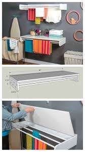 Laundry Room Table For Folding Clothes Best 25 Laundry Rack Ideas On Pinterest Diy Clothes Drying Rack