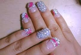imagenes de uñas acrilicas con pedreria 20 diseños de uñas con piedas uñas decoradas con piedas 2018