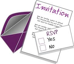 sample rsvp e mail responses for accepting or declining