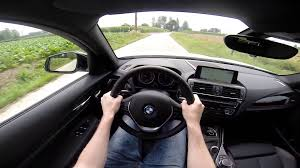 bmw 1 series 2015 118d xdrive hatch pov test drive gopro youtube