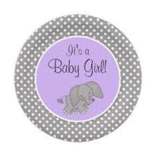purple elephant baby shower decorations purple elephant baby shower gifts on zazzle