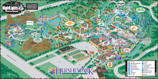 America Rides Maps by Hershey Park Hotelroomsearch Net
